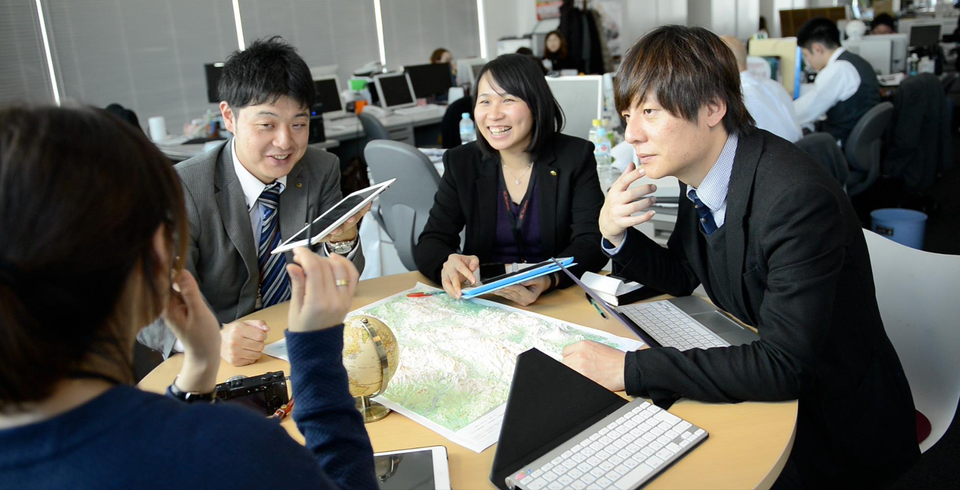 観光立国黎明期からの事業経験と豊富な海外パートナーシップ