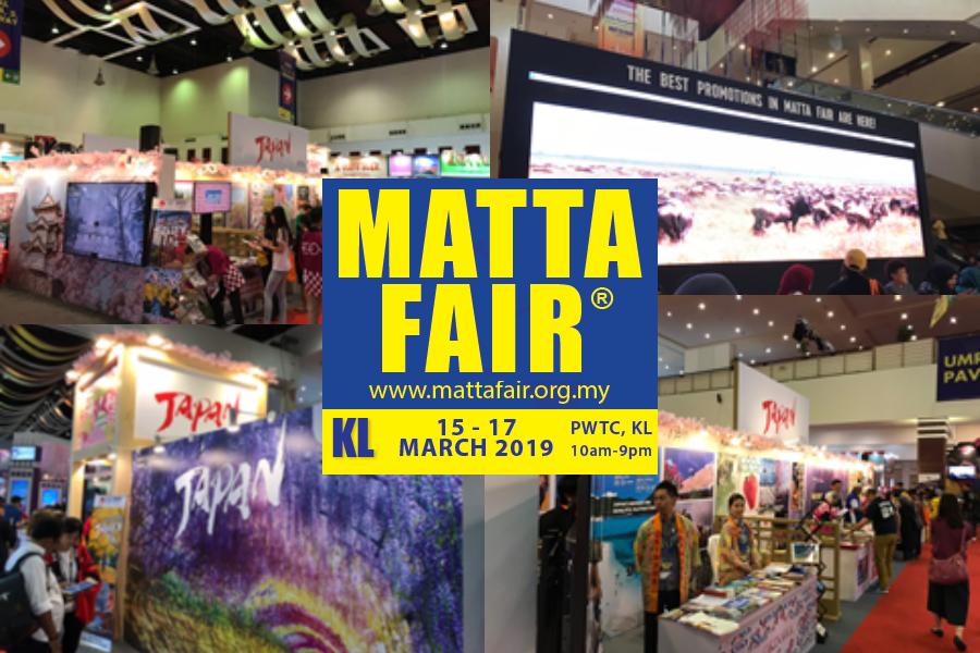 旅行博レポート|マレーシア・MATTA Fair Kuala Lumpur 2019