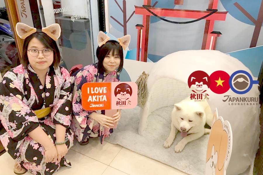 ベトナム|「秋田犬 × JAPANKURU」現地のペット需要と日本の魅力をマッチング